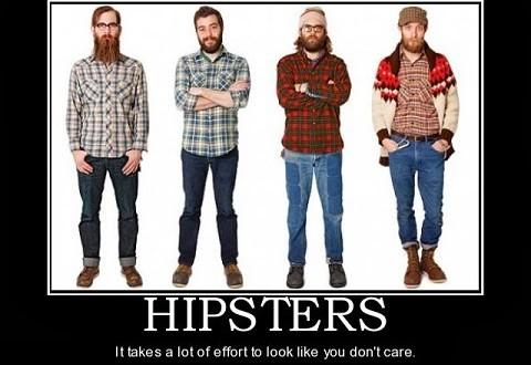 Защо хипстърите изглеждат еднакви