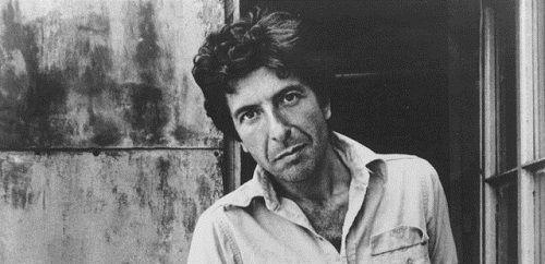 Photo of Leonard Cohen