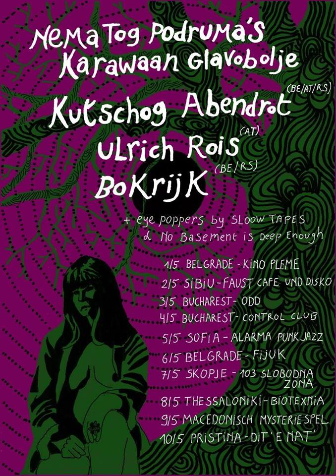 Kutschog Abendrot I Ulrich Rois I Bokrijk at Alarma Punk Jazz в Чешкия център