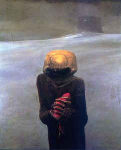 Zdzisław-Beksiński-dark-alien