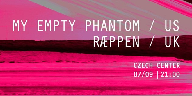 My Empty Phantom (US) и Ræppen (UK) на живо в София през септември