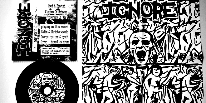 Ignore – New World Disorder (CD reissue)