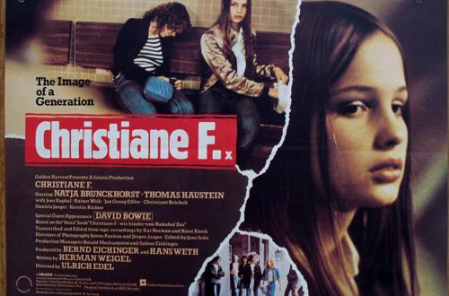 Кристиане Ф: Щом веднъж можем да спрем, значи можем да спрем винаги, когато пожелаем