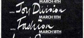 Когато Joy Division подгряваше Тhe Cure