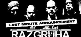 В последната минута: RAZGRUHA се включват в концерта на SKINPIN & FEEDBACKER