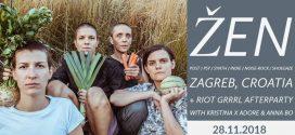 Хърватският женски пост-рок колектив ŽEN с концерт във Фабрика Автономия