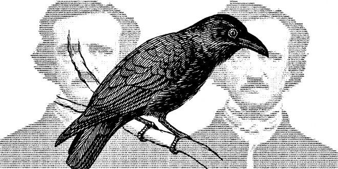 Едгар Алън По: Гарванът